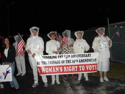 Democrat Suffragettes