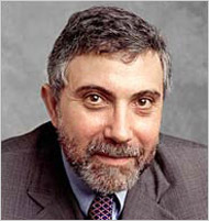 Paul Krugman by Fred Conrad
