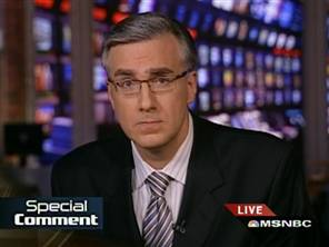 Keith Olbermann, today's Edward Murrow